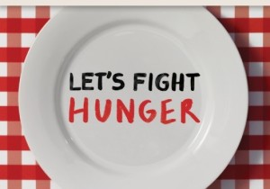 Let's Fight Hunger logo